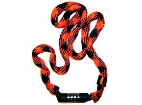 Zámek KTM Smart Chain Lock Code 2021 Orange/black