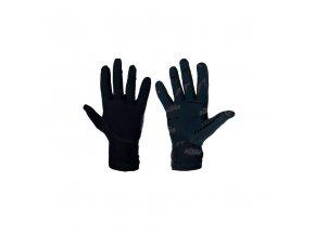 Cyklistické rukavice KTM FT II Lang 2021 Black