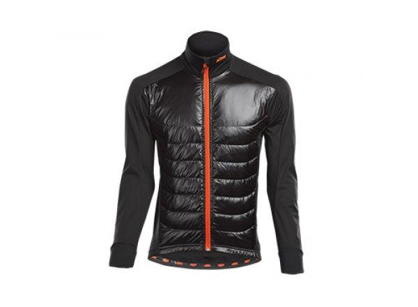 Cyklistická bunda KTM FACTORY TEAM RACE AIR XW 2021 Black/orange