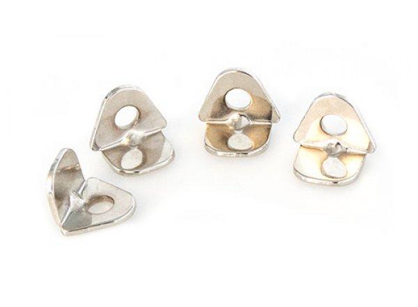 Kolíky k tretrám KTM FT MTB ocelové Silver