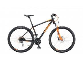 Horské kolo KTM CHICAGO DISC 29 2020 black matt (orange)