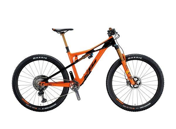 Horské kolo KTM PROWLER SONIC 29 2020 space orange (black)