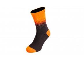 Ponožky KTM Factory Team Flow 2021 Black/orange