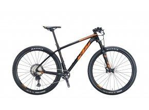 Horské kolo KTM MYROON MASTER 29 2021 metallic black (orange+grey)
