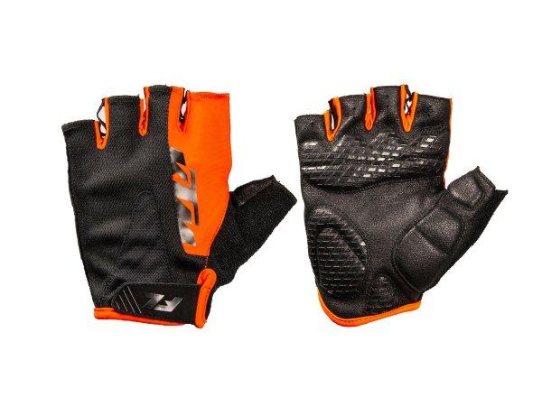 Cyklistické rukavice KTM Factory Line 2021 Black/orange
