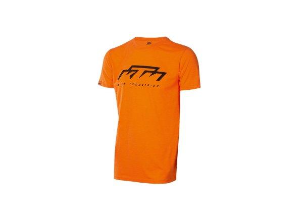 Tričko KTM Bike Industries 2021 Orange/black